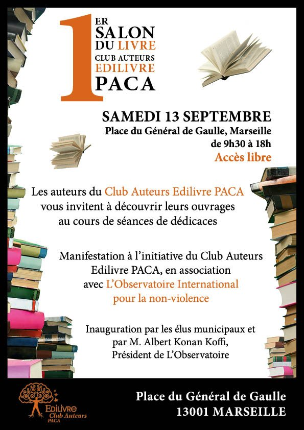 Initiative_Club_Auteurs_PACA_Salon_de_Marseille_Affiche_Edilivre