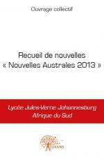 Recueil de nouvelles « Nouvelles Australes 2013 »