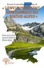 Recueil de nouvelles du Club Auteurs Rhône-Alpes