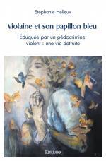 Violaine et son papillon bleu