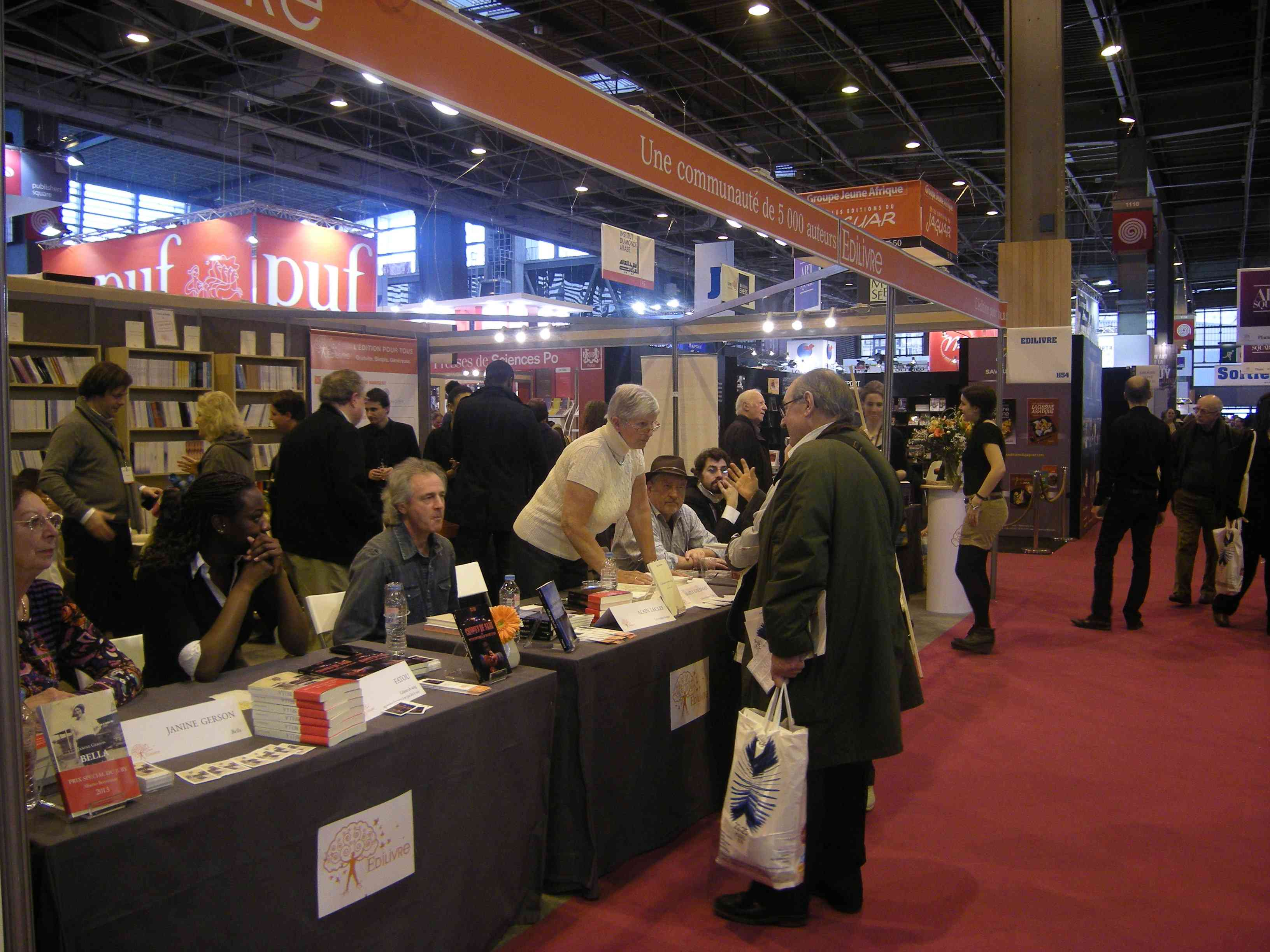 Salon du livre de paris edilivre 10 l 39 actualit edilivre for 10 best audiobooks of 2013 salon