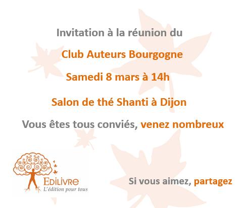 Rencontre_Club_Auteurs_Bourgogne_Edilivre