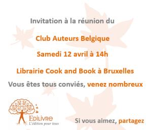 Rencontre_Club_Auteurs_Belgique_Edilivre