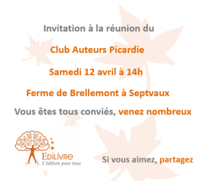 Rencontre_Club_Auteurs_Picardie_Edilivre