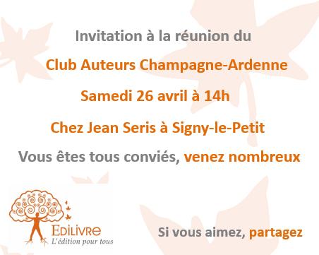Rencontre_Club_Auteurs_Champagne_Ardennes_Edilivre