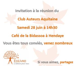 Rencontre_Club_Auteurs_Aquitaine_Edilivre