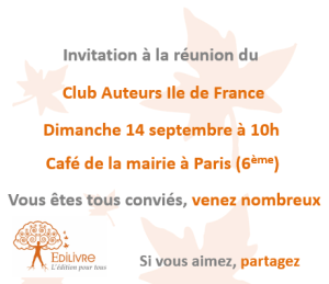 Rencontre_Club_Auteurs_Ile_de_France_Edilivre