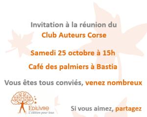 Rencontre_Club_Auteurs_Corse_Edilivre