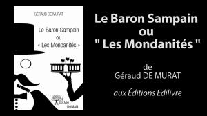 """Bande_annonce_le_baron_sampain_ou_""""les_mondanités""""_Edilivre"""