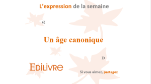Age canonique WP