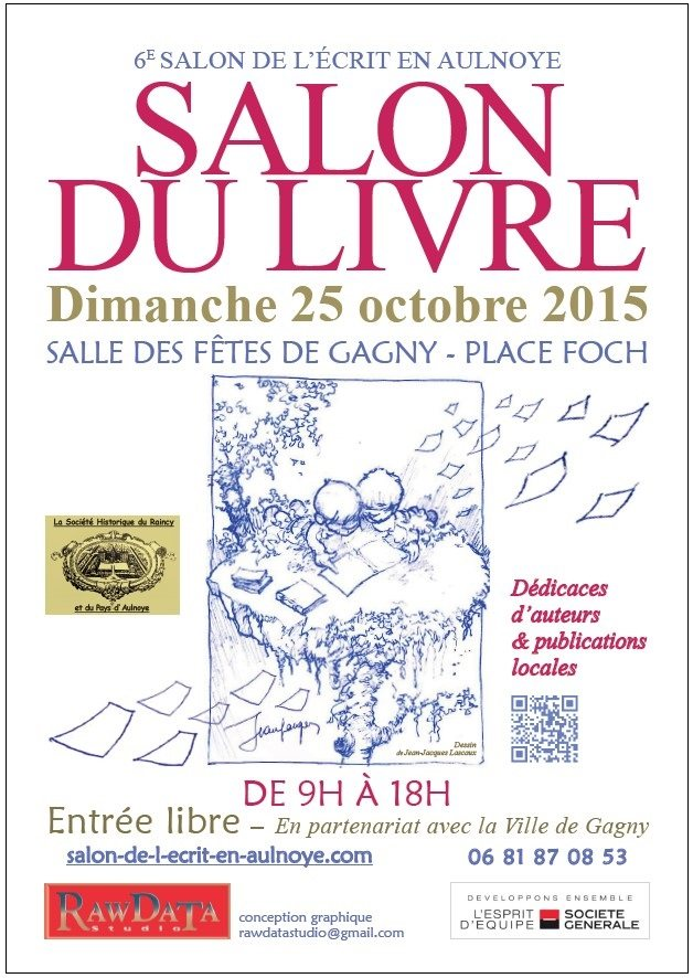 Affiche_Gagny_2015_Edilivre
