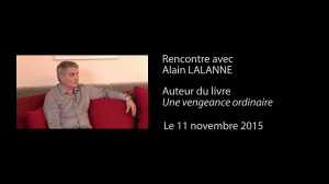 interview_video_une_vengeance_ordinaire_Edilivre