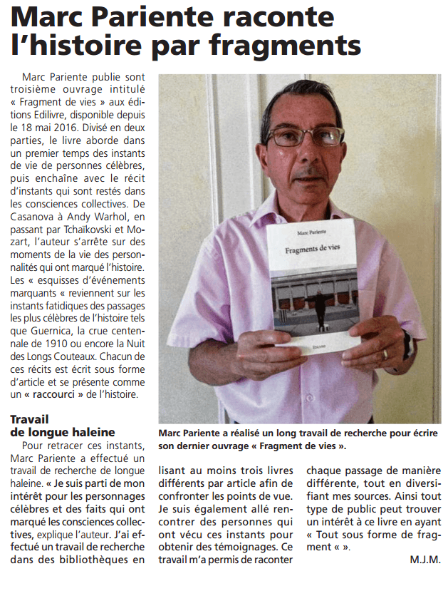 article_LeCourrierDesYvelynes_MarcPariente