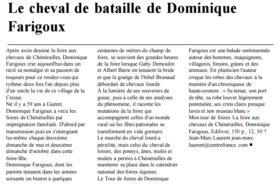 article_La Montagne_Dominique Farigoux