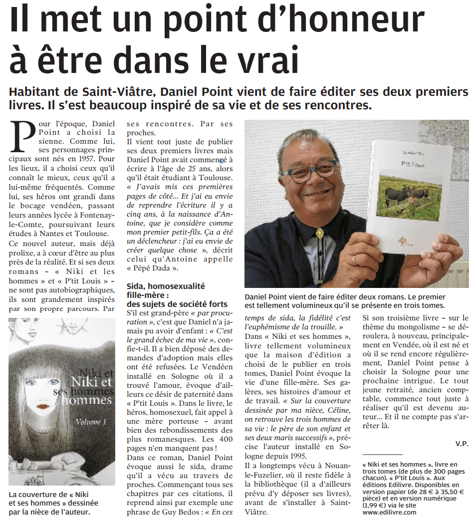 article_LaNouvelleRépublique_Daniel Point
