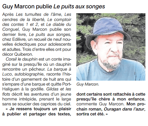 article_Ouest France_Guy Marcon