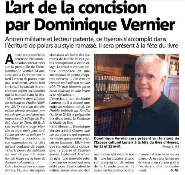 article_Var_Matin_Dominique_Vernier_2018_Edilivre