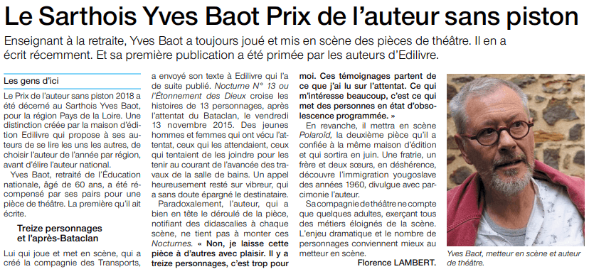 article_Ouest_France_Yves_Baot_2018_Edilivre