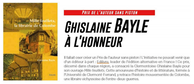 article_Demain_Clermont_Ferrand_Ghislaine_Bayle_2018_Edilivre