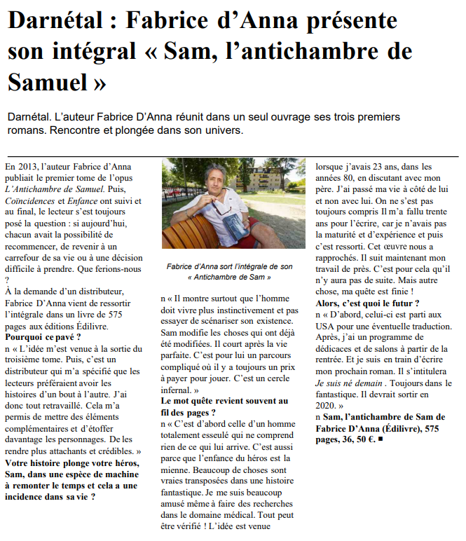 article_Paris_Normandie_Fabrice_D'Anna_2018_Edilivre