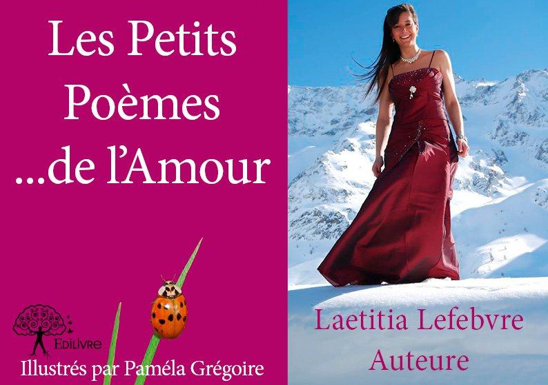 Les Petits Poèmes De Lamour Laetitia Lefebvre