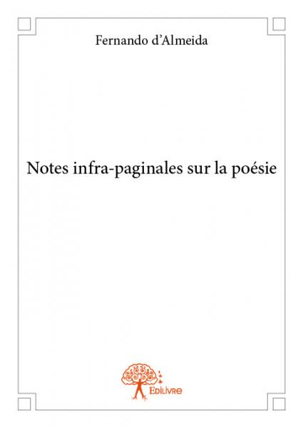 Notes infra-paginales sur la poésie