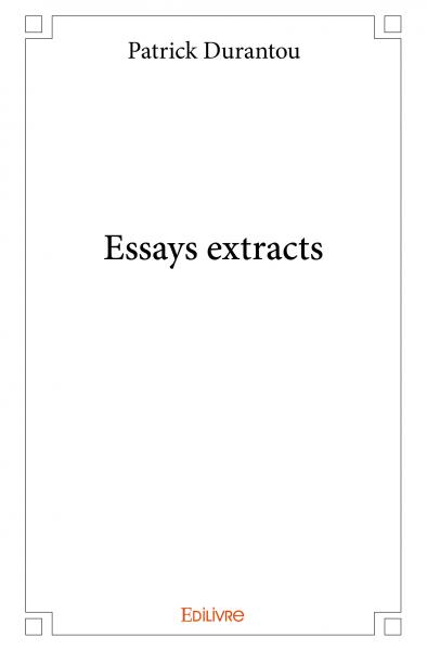 Essays extracts