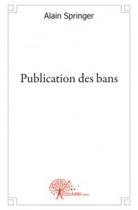 Publication des bans
