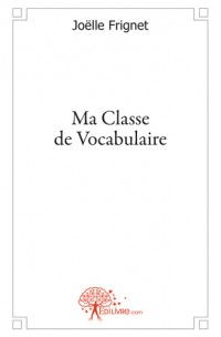 Ma classe de vocabulaire