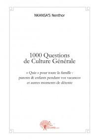 1000 Questions de Culture G