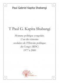 T Paul G. Kapita Shabangi.