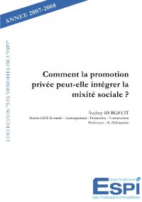 Comment la promotion priv
