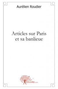 Articles sur Paris et sa banlieue