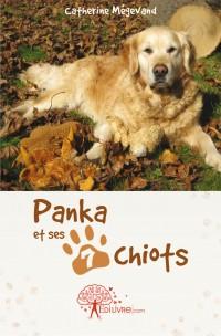 Panka et ses 7 chiots,