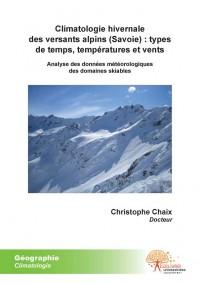 Climatologie hivernale des versants alpins (Savoie) : types de temps, temp