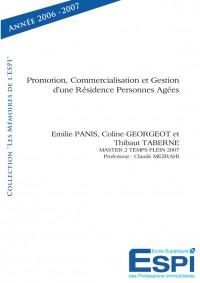 Promotion, commercialisation et gestion d'un r