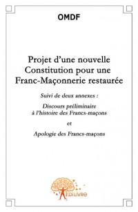 Projet d'une nouvelle constitution pour une Franc-Ma