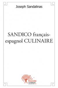 SANDICO français-espagnol CULINAIRE