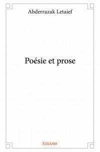 Poésie et prose