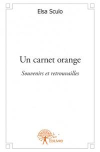Un carnet orange