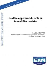 Le développement durable en immobilier tertiaire