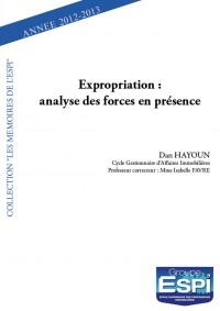 Expropriation : analyse des forces en présence