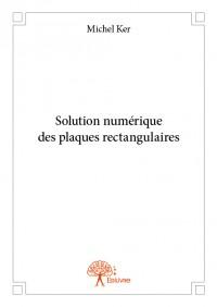 Solution numérique des plaques rectangulaires