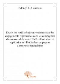L'audit des actifs admis en représentation des engagements réglementés dans les compagnies d'assurance de la zone CIMA : illustration et application sur l'audit des compagnies d'assurance sénégalaises