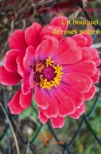 Un bouquet de roses noires