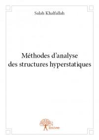 Méthodes d'analyse des structures hyperstatiques
