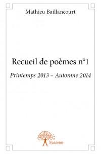 Recueil de poèmes n°1