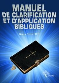 Manuel de clarification et d'application bibliques