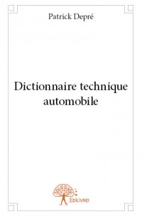 Dictionnaire technique automobile