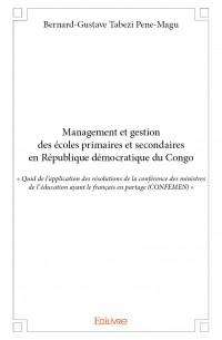 Management et gestion des écoles primaires et secondaires en République démocratique du Congo